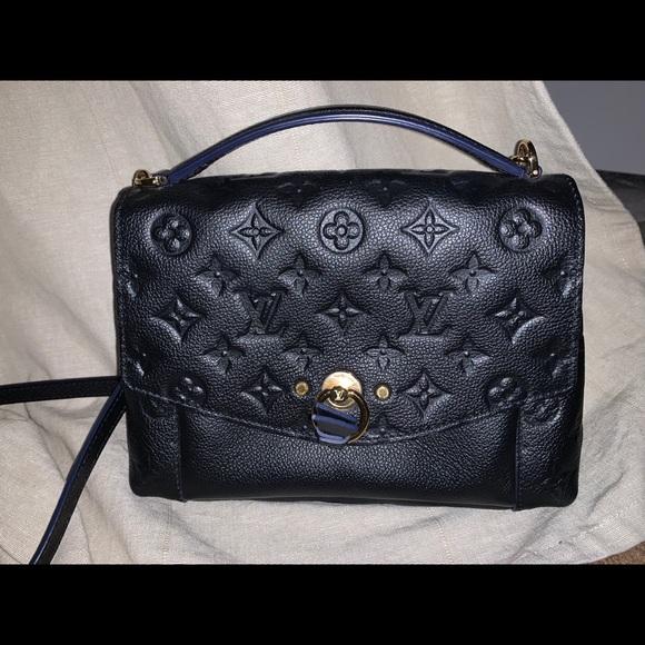 Louis Vuitton Blanche BB Noir